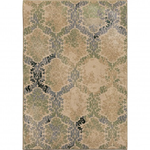 Oxfordburst Green Large Rug