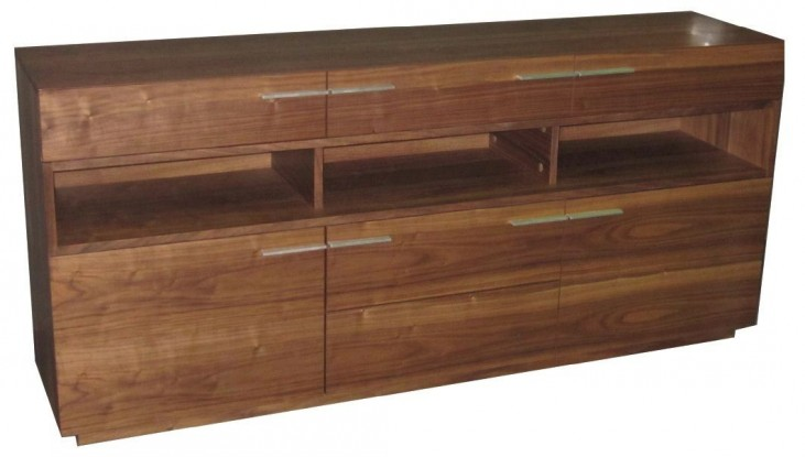 Ravel Brown Oak Melamine Sideboard