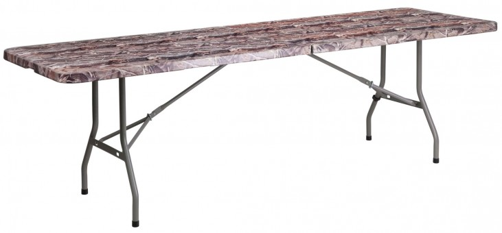 "30"" Bi-Fold Camouflage Folding Table"