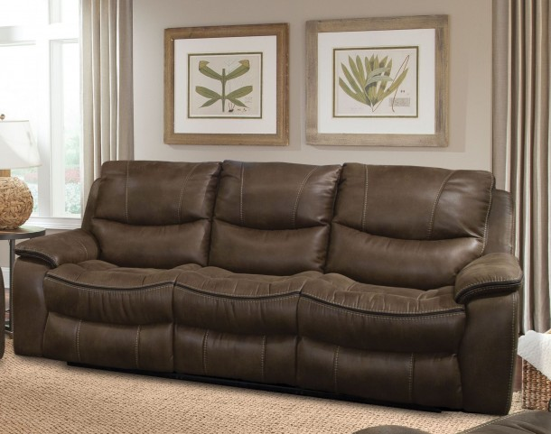 Remus Stone Dual Power Reclining Sofa