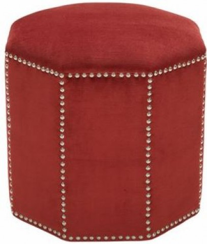 Baltec Red Pepper Ottoman