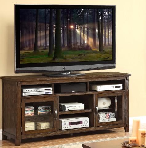 "Restoration Rustic Walnut 72"" TV Console"
