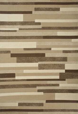 Ostend Small Tan And Brown Area Rug