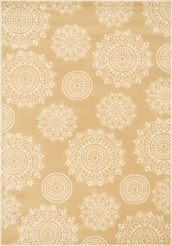 Windel Medium Beige & Ivory Area Rug