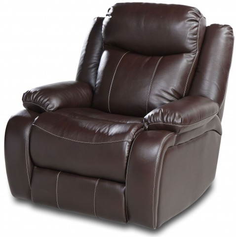 Genesis Jamestown Brown Fabric Power Reclining Chair