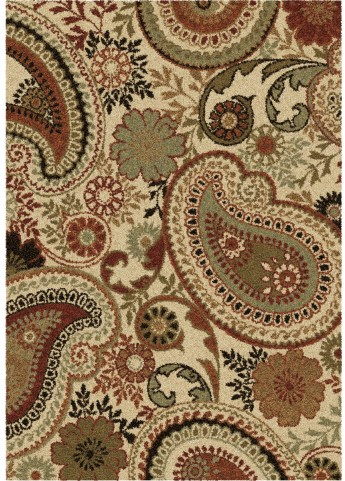 Orian Rugs Plush Paisley Crestview Beige Area Large Rug