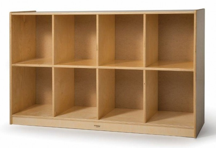 8 Cubby Backpack Storage Cabinet