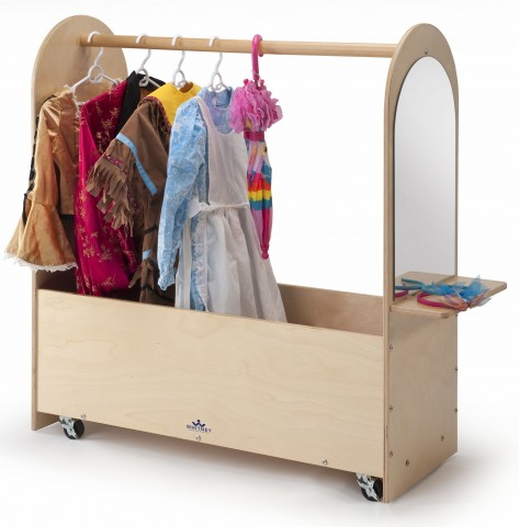 Portable Dress Up Rack