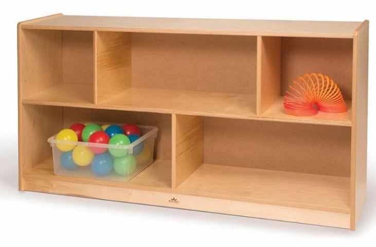 Back Straight Single Storage Cabinet