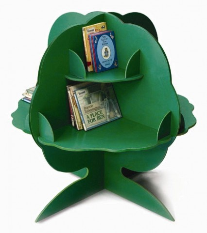 Green Reading Tree Storage