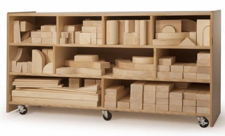 Large Block Cabinet