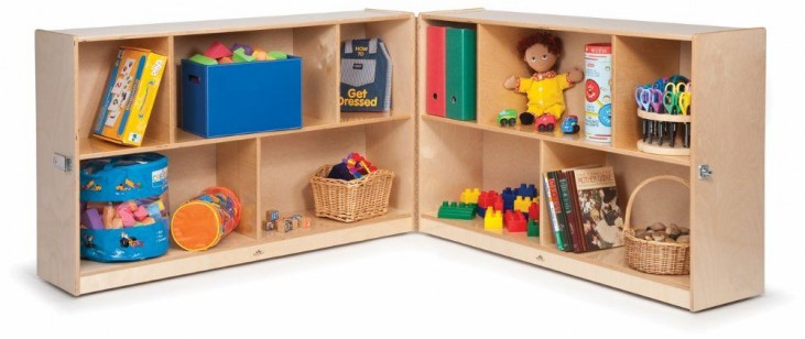 "Toddler 24"" Fold and Roll Two storage"