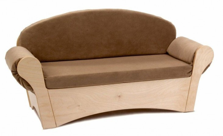 Tan Child's Easy Sofa