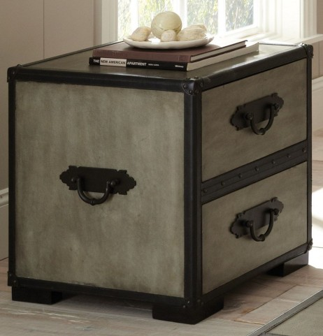 Rowan Weathered Gray End Table
