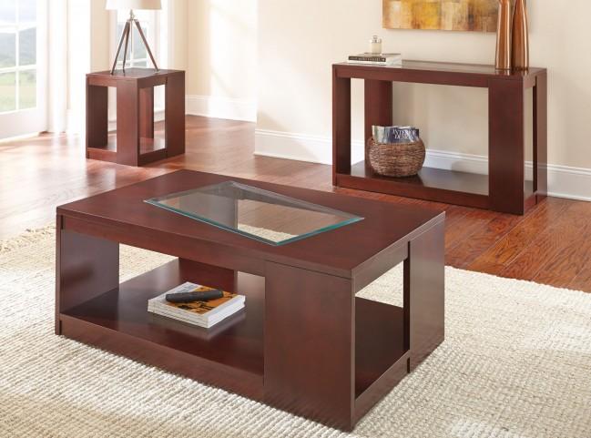 Reynosa Chrome Occasional Table Set