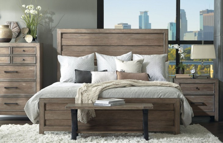 Flatbush Brown Panel Bedroom Set