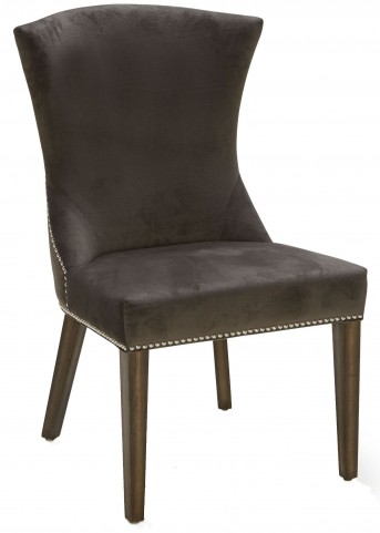 Sabrina Fossil Grey Fabric Dining Chair
