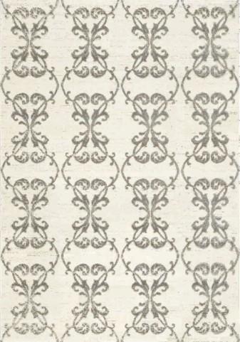 Safi Ironwork Cream/Grey Medium Rug