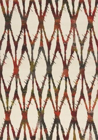 Safi Multi Twisted Diamonds Medium Rug