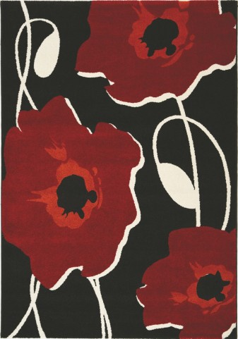 Safi Sylized Poppy Small Rug
