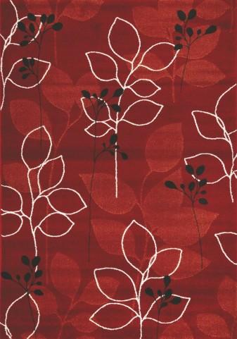 "Safi Magical Red Orange Forest 94"" Rug"
