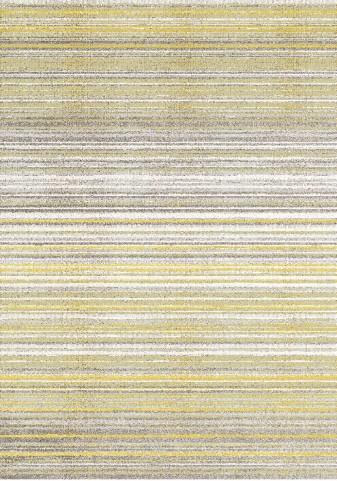 """Safi Grey Yellow Cords 63"""" Rug"""