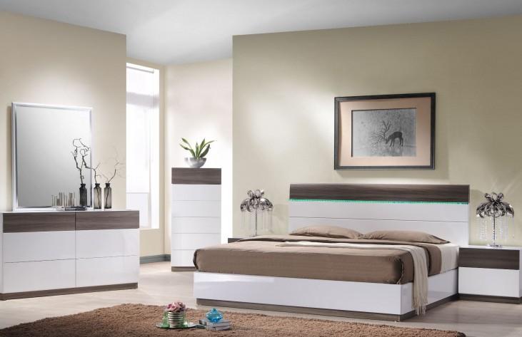 Sanremo B Platform Bedroom Set