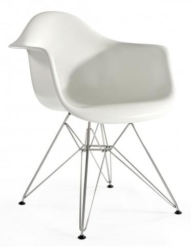 Modern Classics Sasha White Gloss Chair