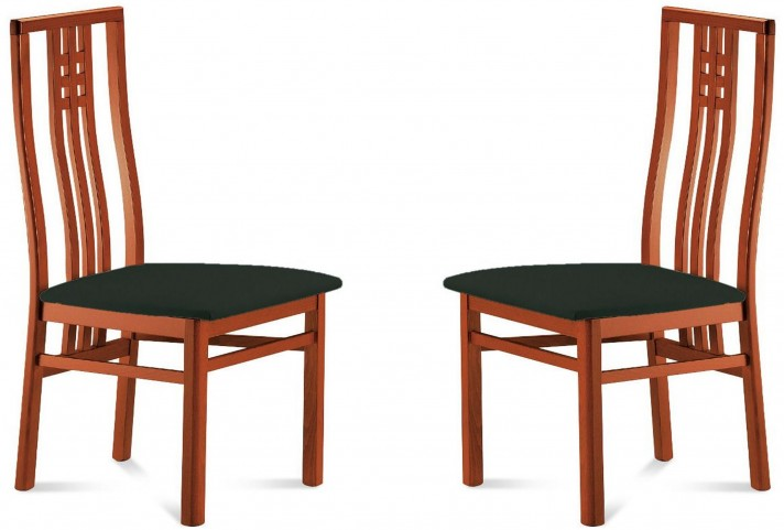 Scala Toulouse Cherry Beechwood Chair Set of 2