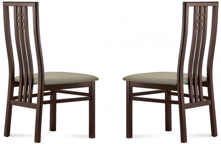 Scala Opale Grey Beechwood Chair Set of 2