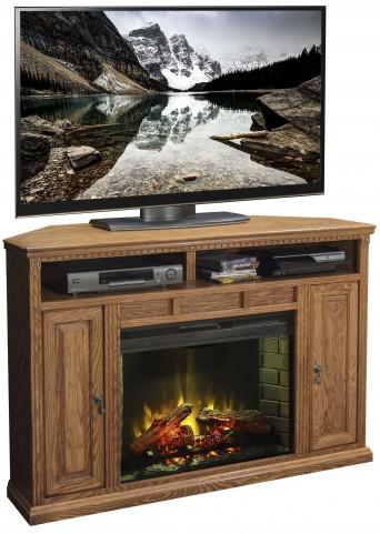 "Scottsdale Rustique 56"" Corner Fireplace"