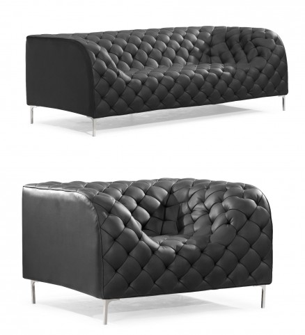 Providence Black Living Room Set