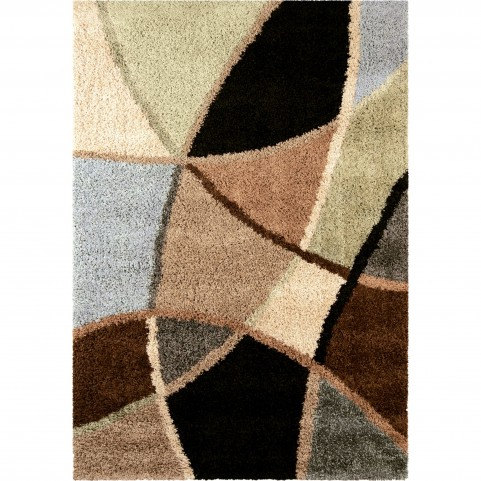 Abstract Duchess Blue Large Rug