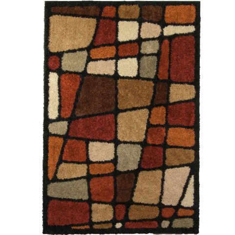 Hopscotch Multi Medium Rug