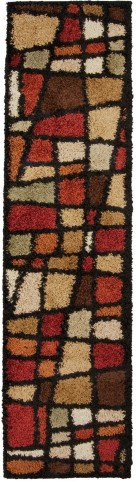 Orian Rugs Shag Geometric Hopscotch Multi Area Medium Rug