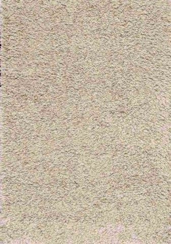 Shaggy Solid Taupe and Beige Medium Rug