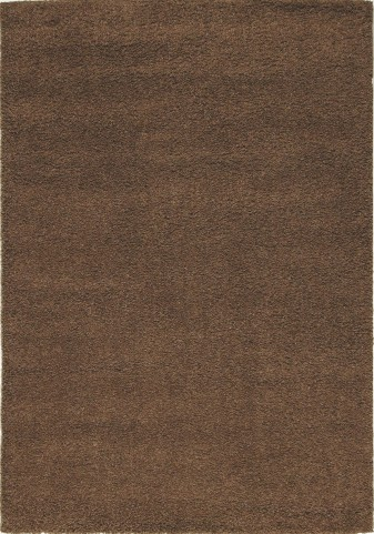 "Shaggy Brown Solid 47"" Rug"