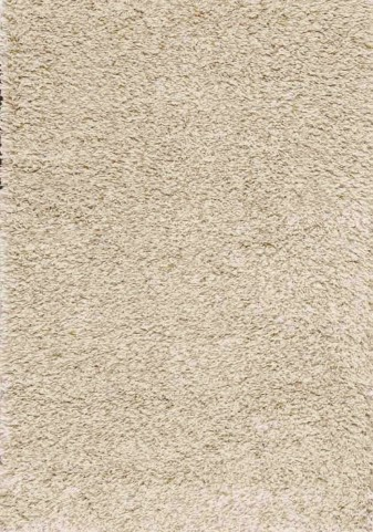 "Shaggy Taupe Beige Solid 63"" Rug"