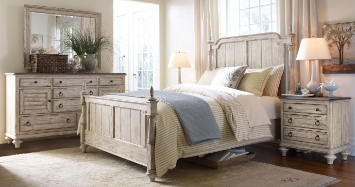 Weatherford Cornsilk Westland Bedroom Set