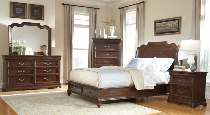 Signature Sleigh Storage Bedroom Set