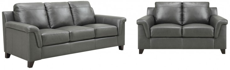 Sienna Dark Gray Living Room Set