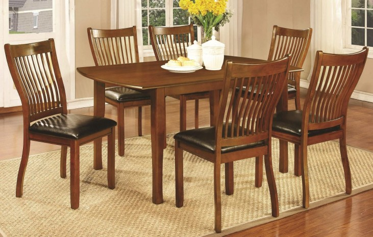 Sierra Amber Rectangular Dining Room Set