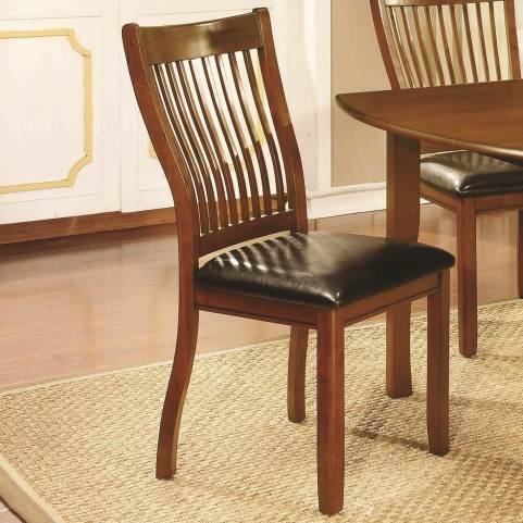 Sierra Amber Upholstered Side Chair Set of 2