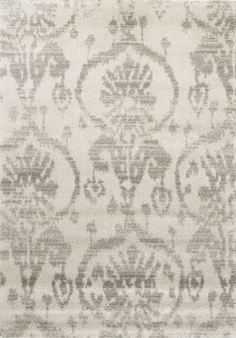 "Silken Subtle Ornaments 94"" Rug"