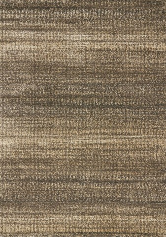 "Silken Brown Distress 94"" Rug"