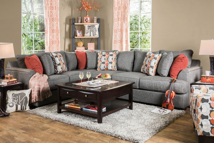 Pennington Gray Sectional