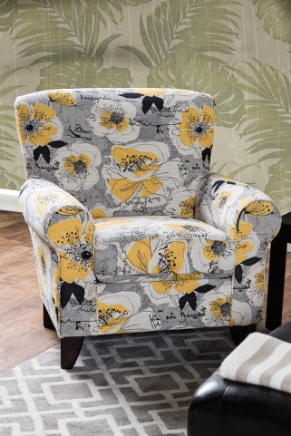 Cashel Pattern Chair Floral