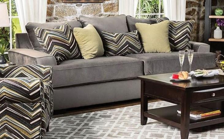 Cashel Gray Olive Sofa