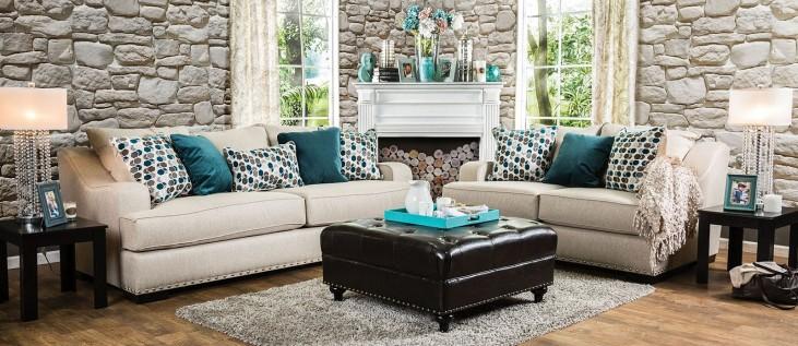 Arklow Beige Living Room Set