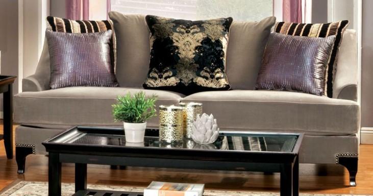 Vittoria Cocoa Brown Sofa